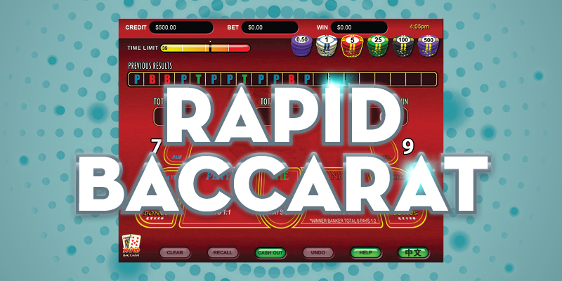 Learn to play Rapid Baccarat