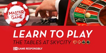 Learn to Play Table Games at SKYCITY Hamilton