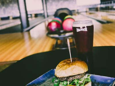 Bowling, Burger and a Beer